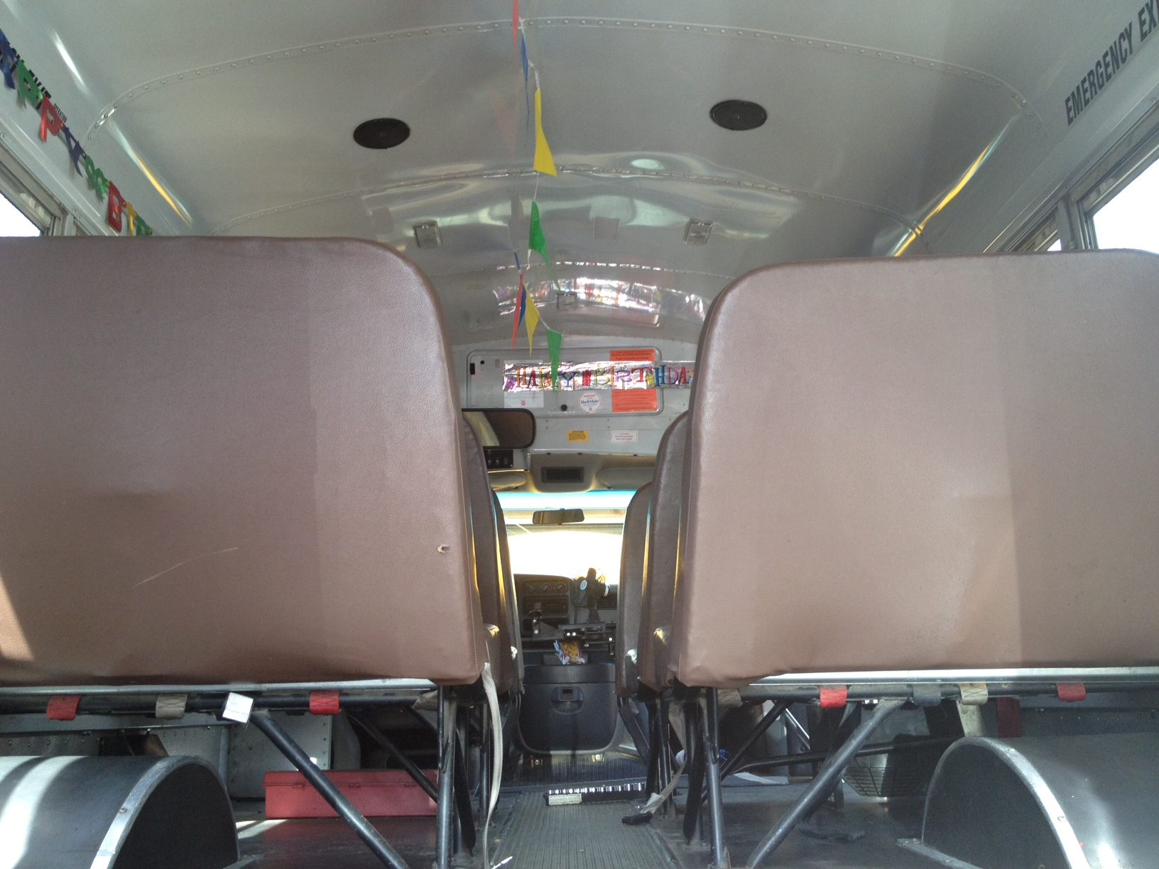 Our short bus conversion – Before construction began! | Free Range Quest