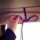 Roll up bus curtains