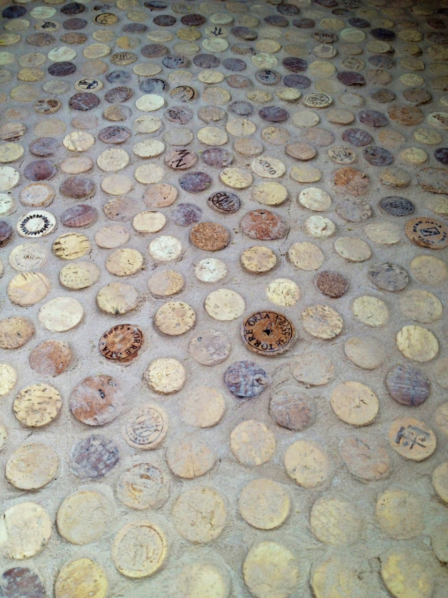 Wine Cork Floors Or How Being Drunken Hoarders Helped