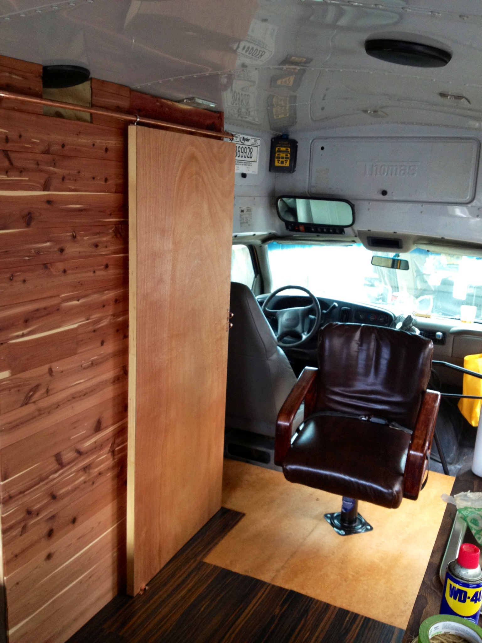Diy Sliding Barn Style Door For Our Busrv Conversion Under 30