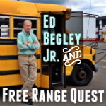 Ed Begley Jr. Visits Free Range Quest