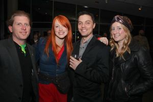 Dave, Roni, Jason, & Kristina - Photo by Tim Valentino of The Voice Tribune