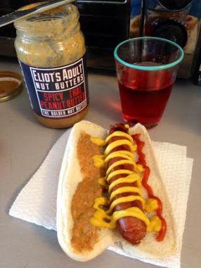 pb hot dog
